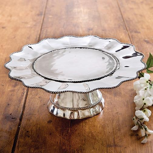 Pearl Denisse Cake Plate