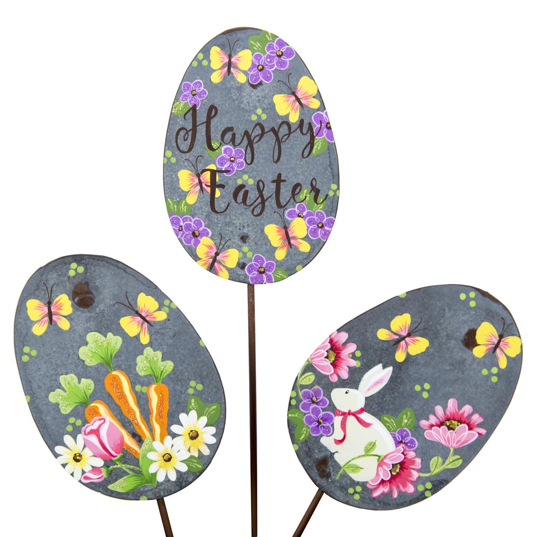 Flowers & Bunnies Eggs