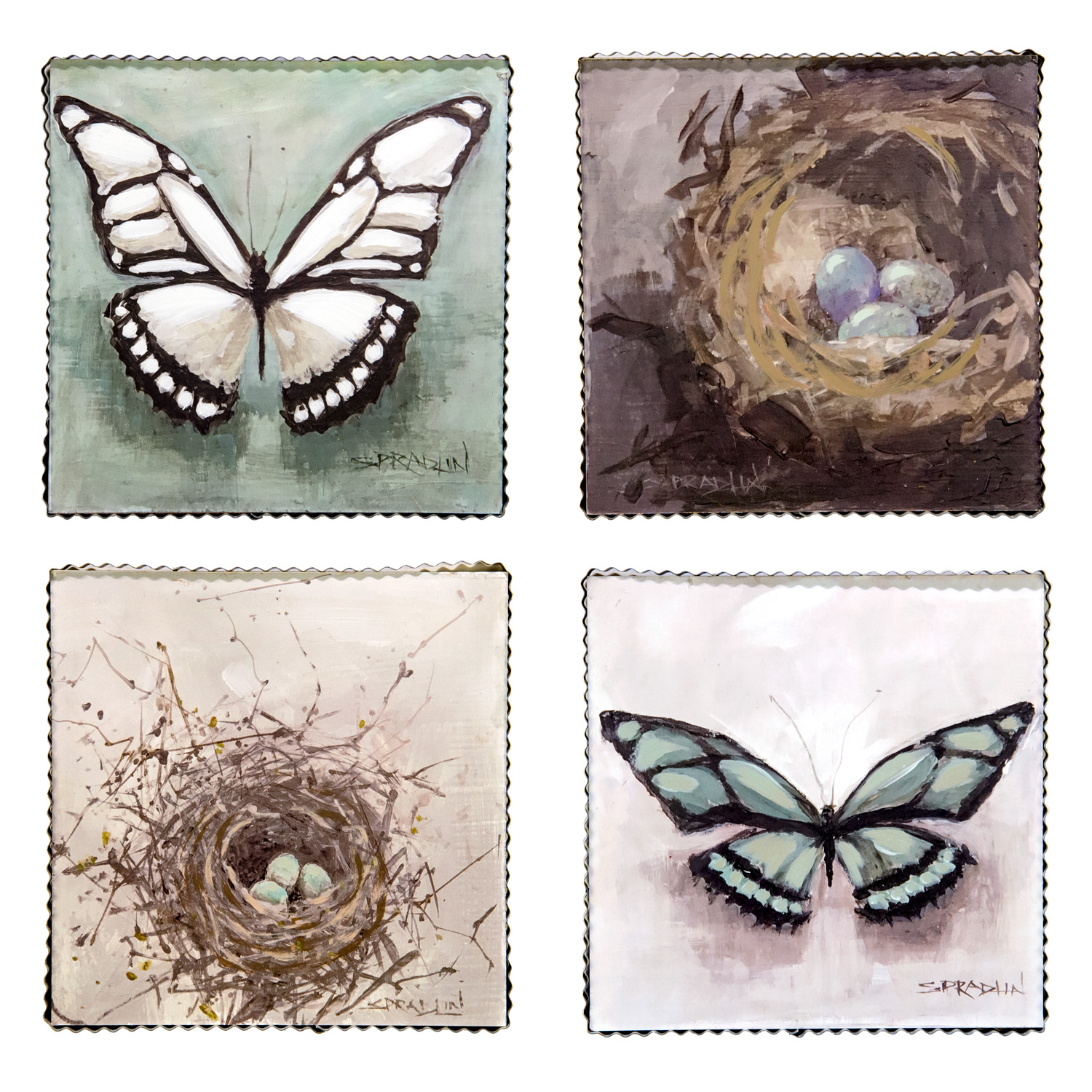 Gallery of Nested Butterfly Signs