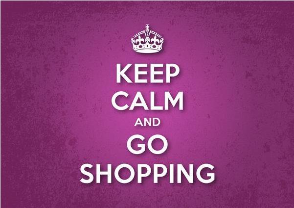 Abigail's Keep calm and shop!