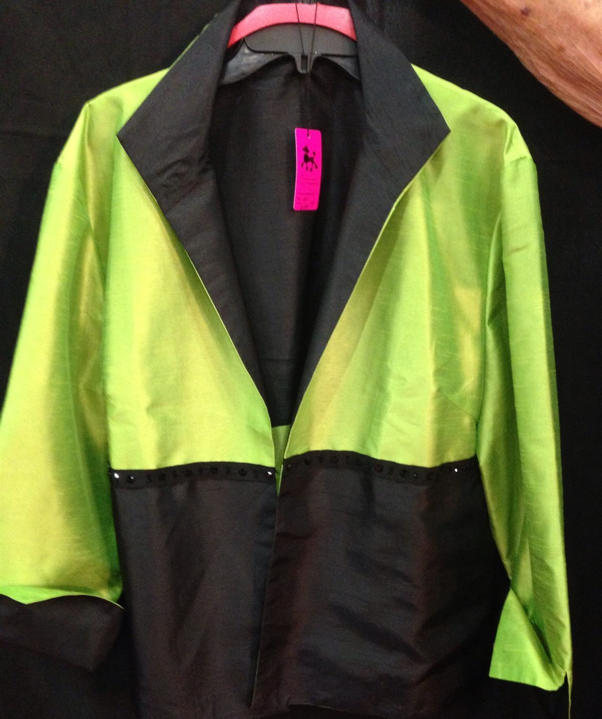 Lime/Black Jacket
