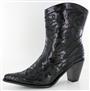 Black Sequin Bling Boot
