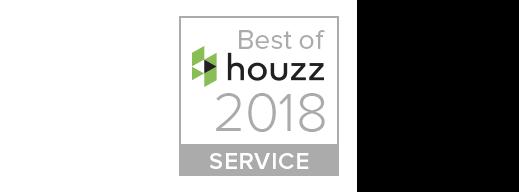 Best of Houzz 2018 Service Award