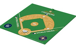 Astros Home Plate Display