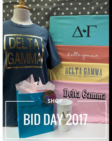 Shop Bid Day 2017 Greek Life Sorority