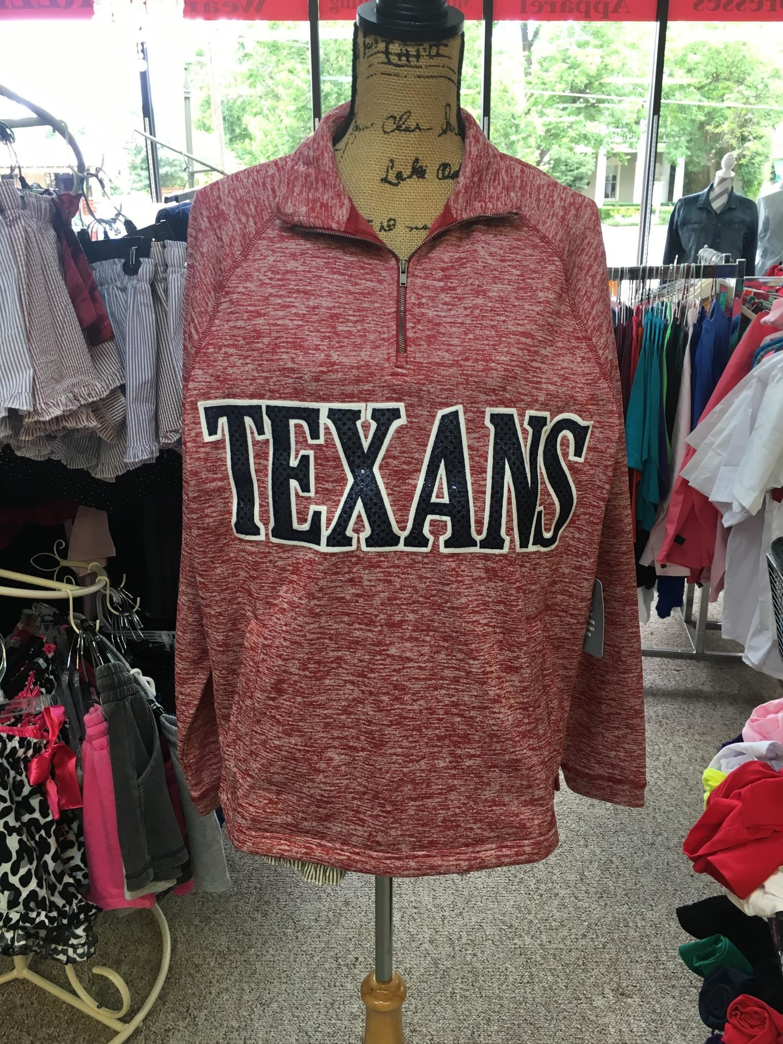 Wimberley Texans 1/4 Zip Jacket