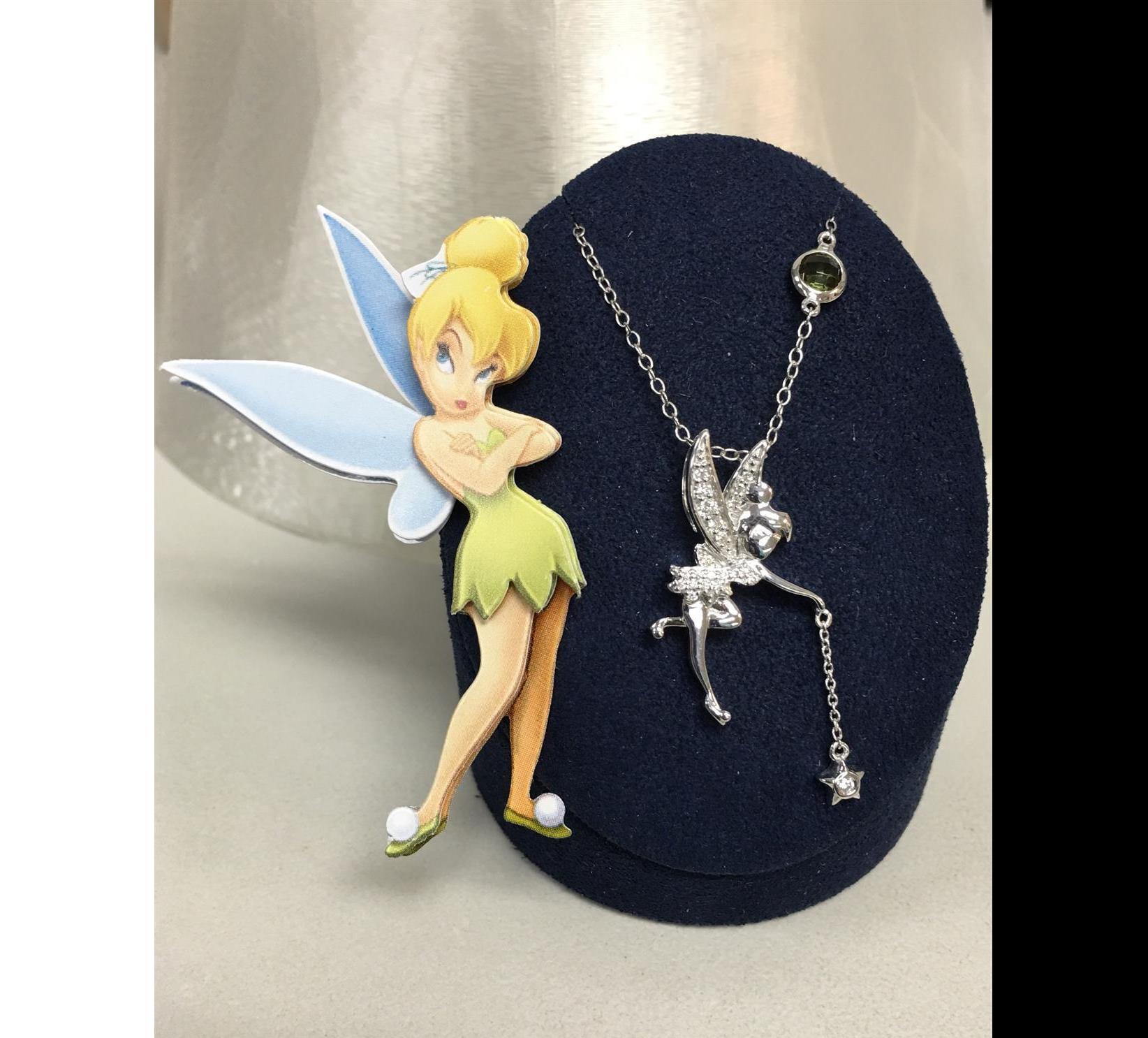 Disney's Tinker Bell Diamond Pendant