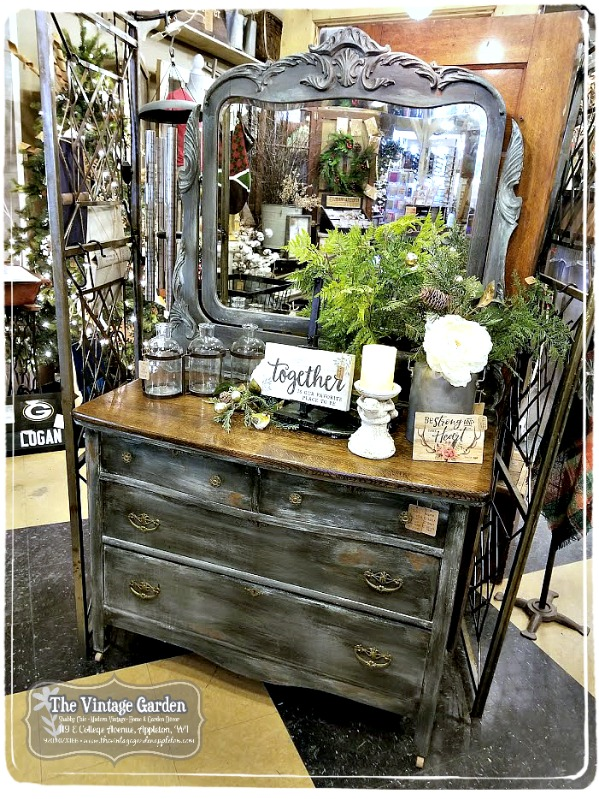 Hand painted, vintage furniture...