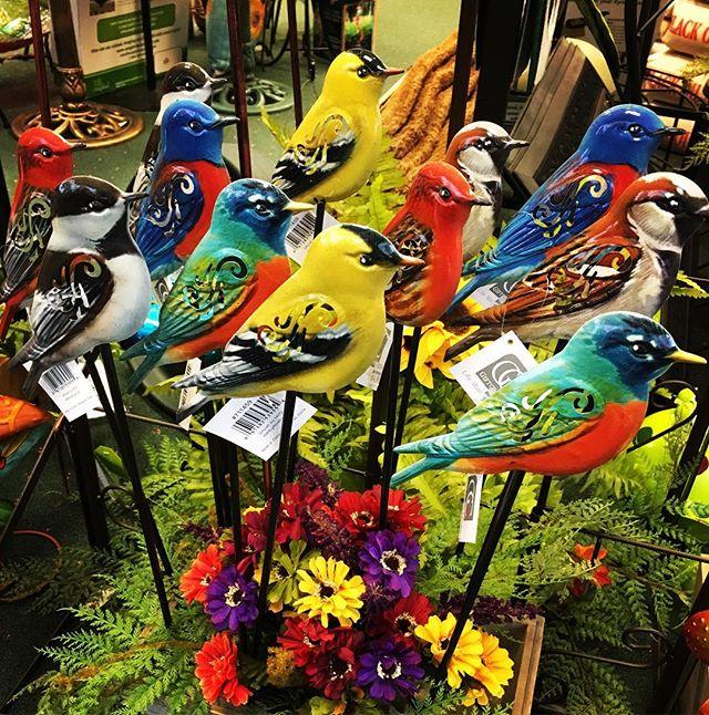 Garden decor available at Bird Watcher Supply Company