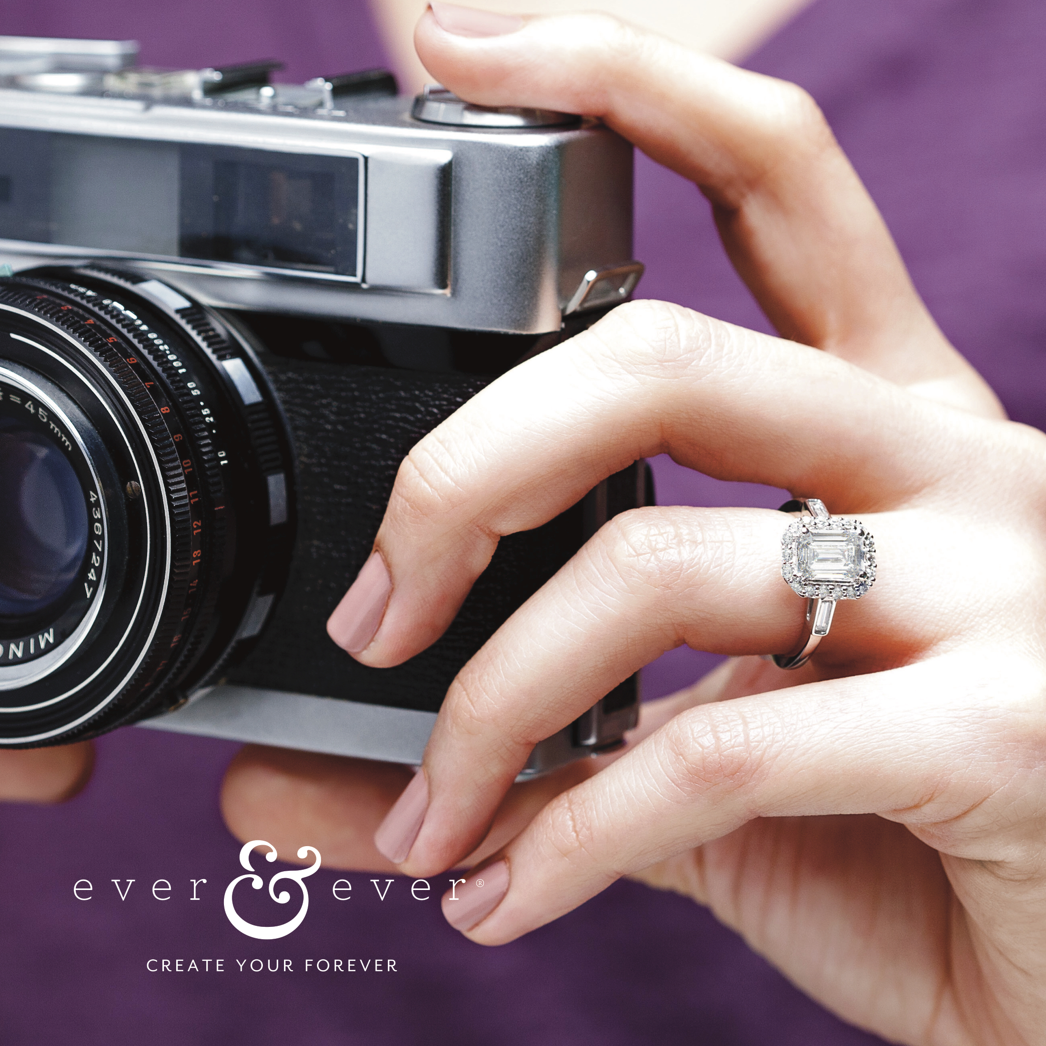 ever and ever Bridal, J West Jewelers, diamonds