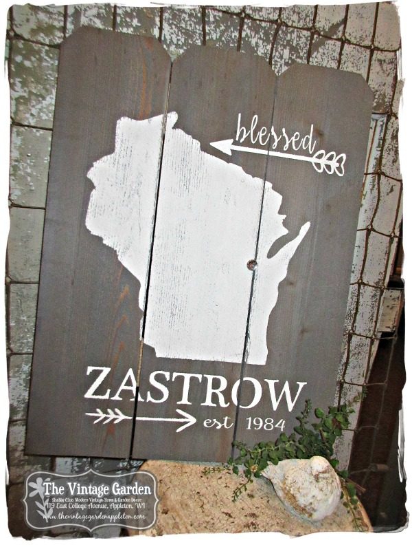 Customized, Personalized Pallet Signs!