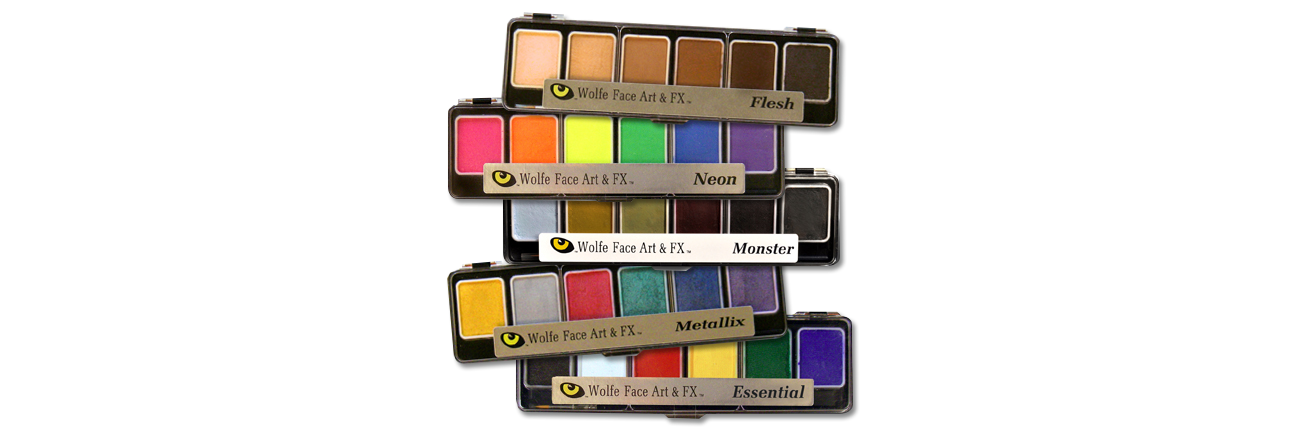 wolfe face art palette