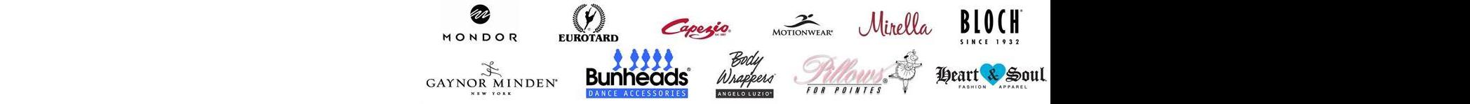 capezio bodywrapper bloch logos