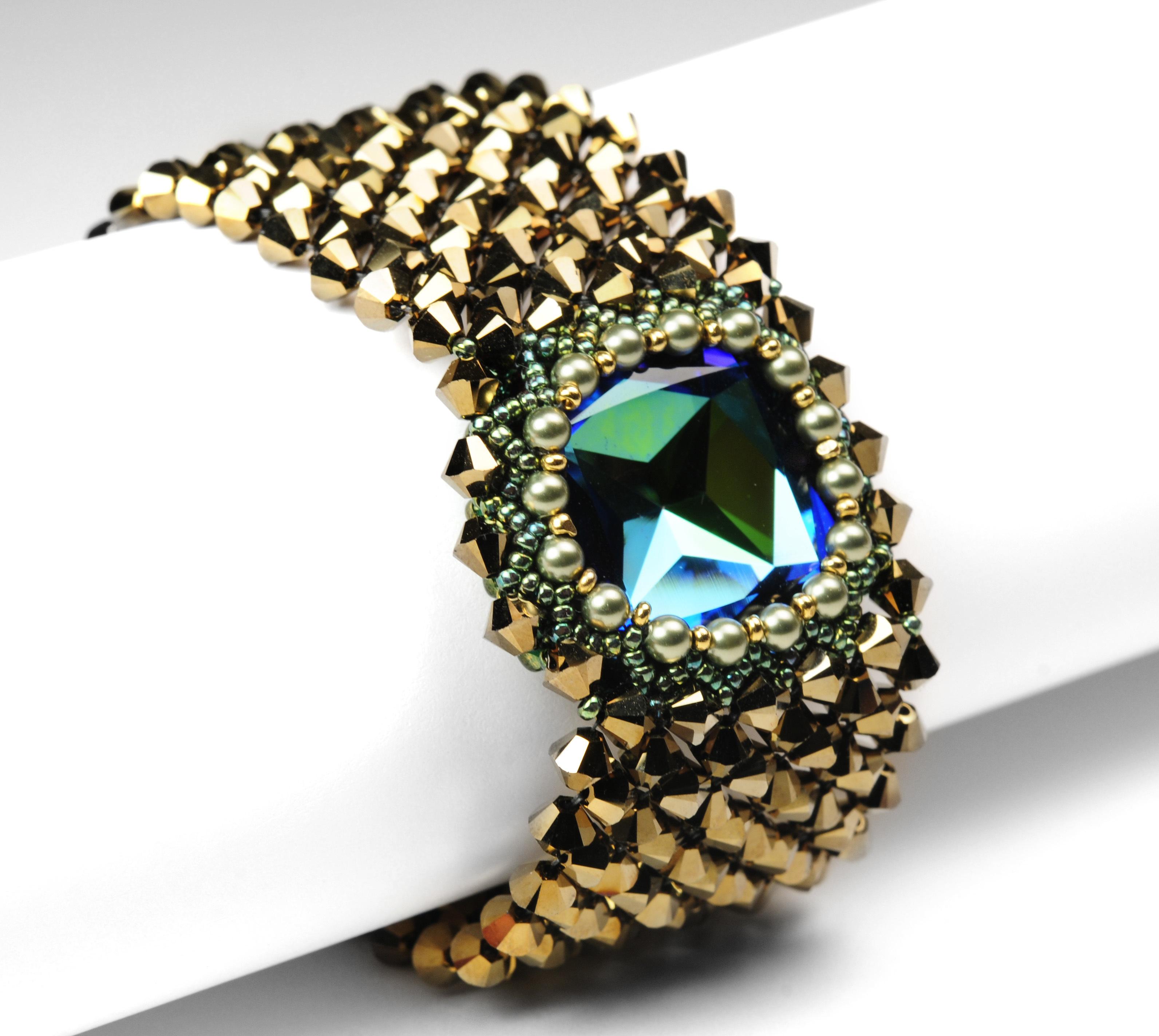 Captured Crystal Bracelet