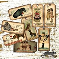 Land of Elsewhere Gift Tags