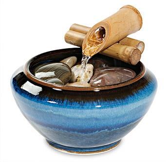 Ceramic Desktop Fountain_Georgetown Pottery