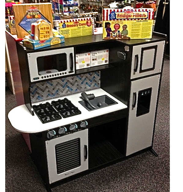 Chef's Kitchen Pretend Play- Charcoal
