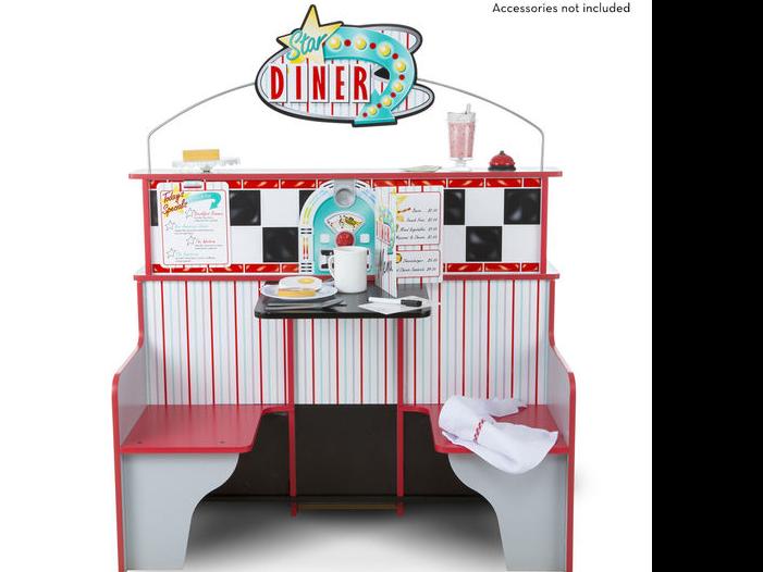 Star Diner Sitting Area