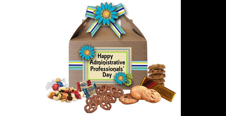 Admin gable box with sweet treats