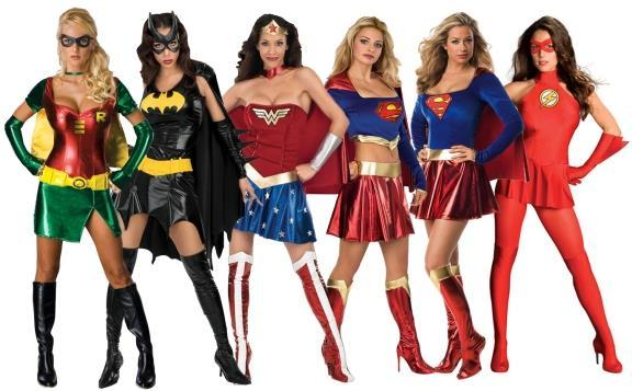 womens super hero costumes