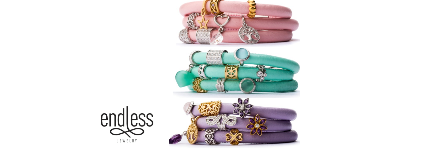 All endless jewelry is now 50% off.