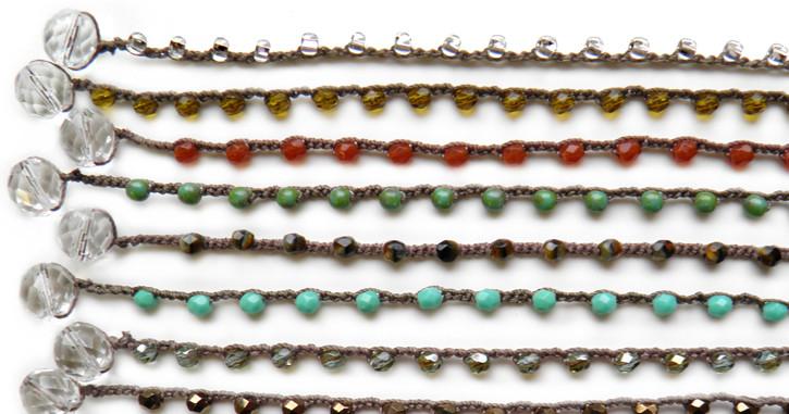 Dot necklace_Donna Silvestri_on u_made in usa