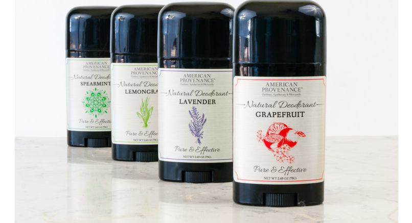 American Provenance Natural Deodorant Collection