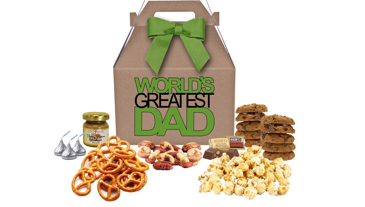 Father's Day snack gift box