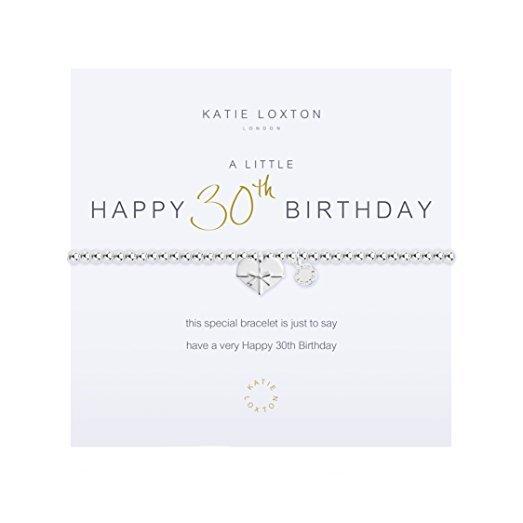 KL Happy 30th Bracelet