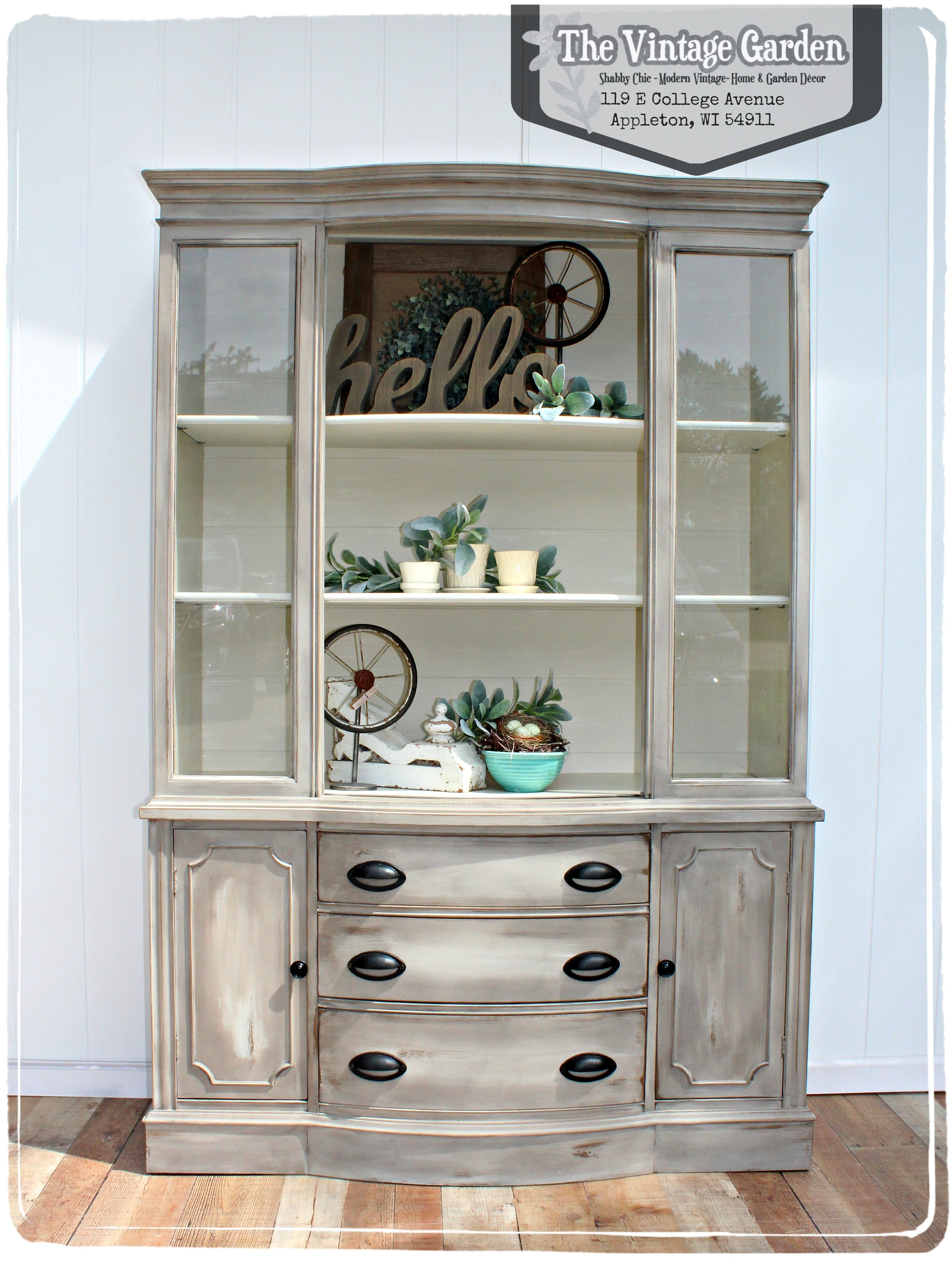 Hand painted, vintage furniture...
