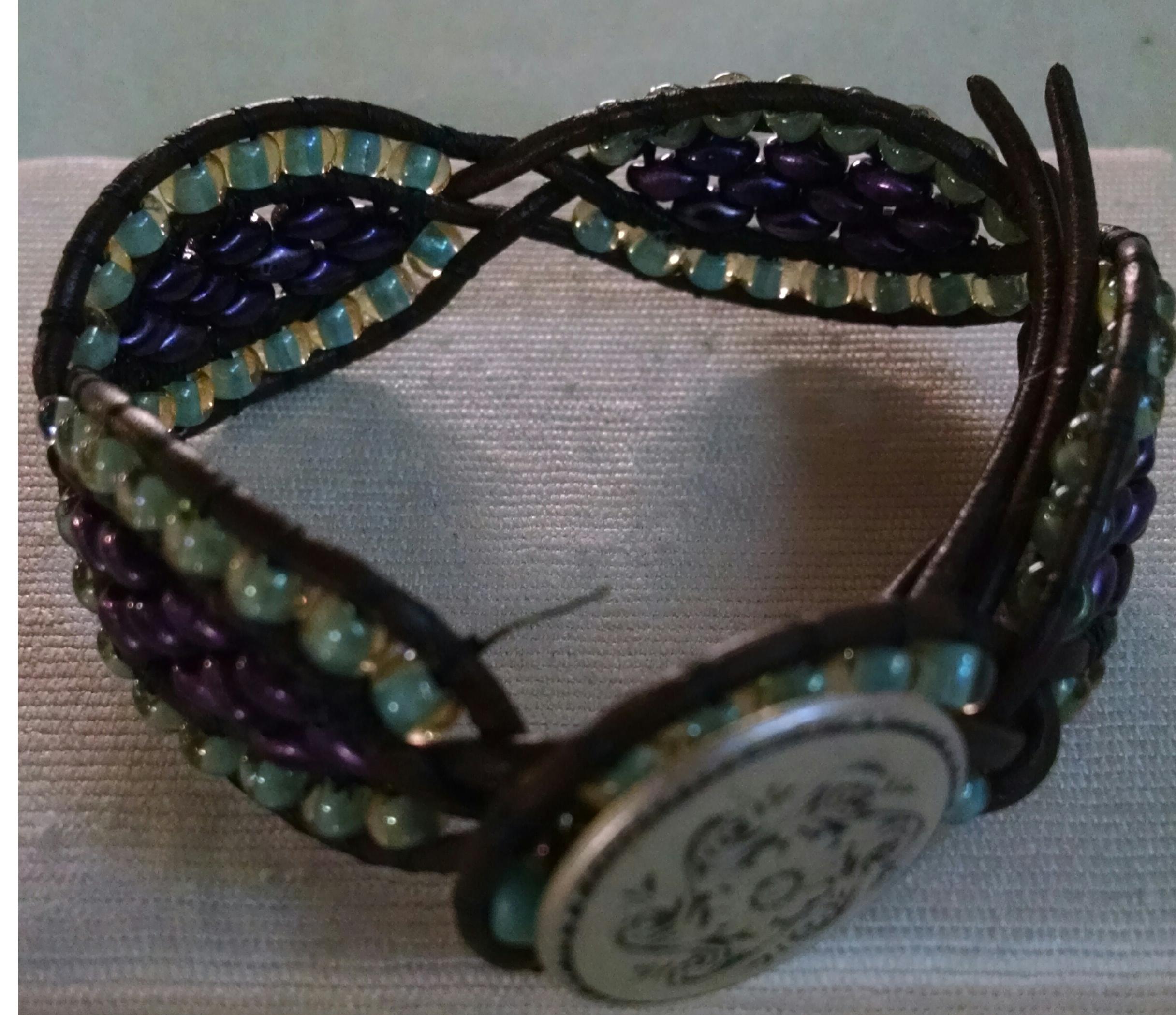 Wrap Bracelets with A Twist