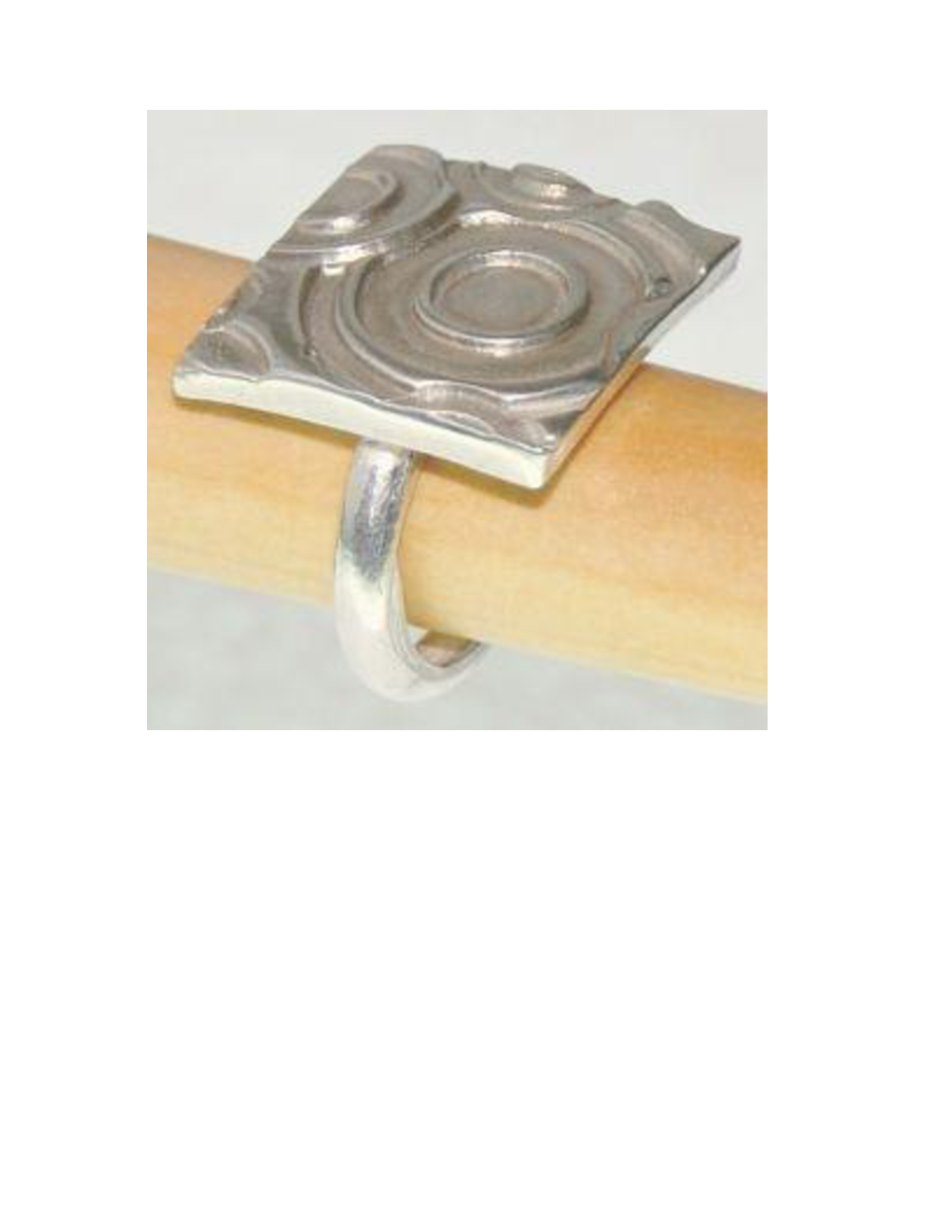 Precious Metal Clay Ring