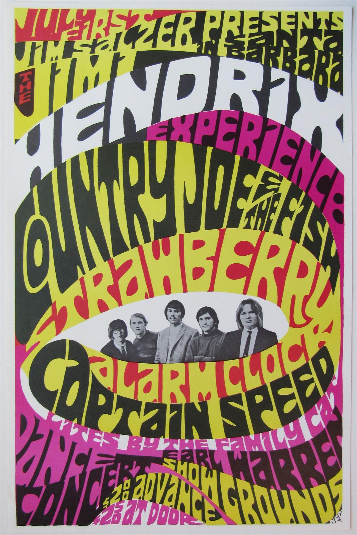 Jimi Hendrix / Strawberry Alarm Clock