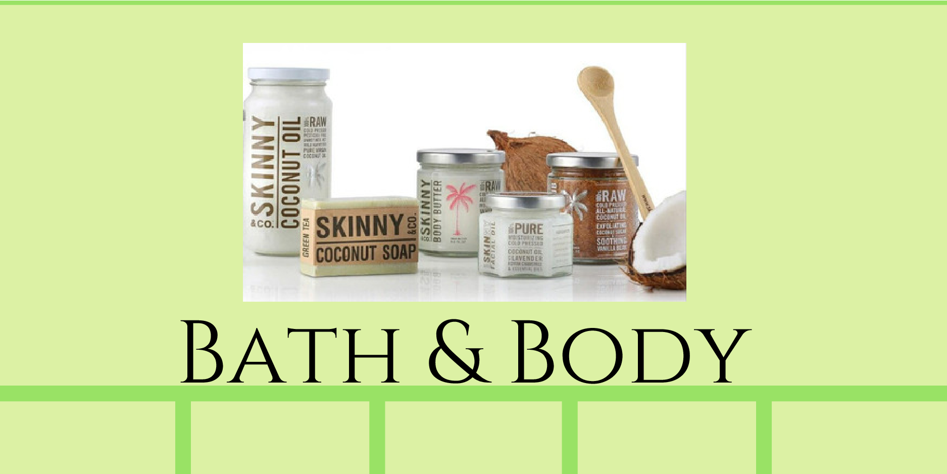 Gustonian Gifts bath and body products