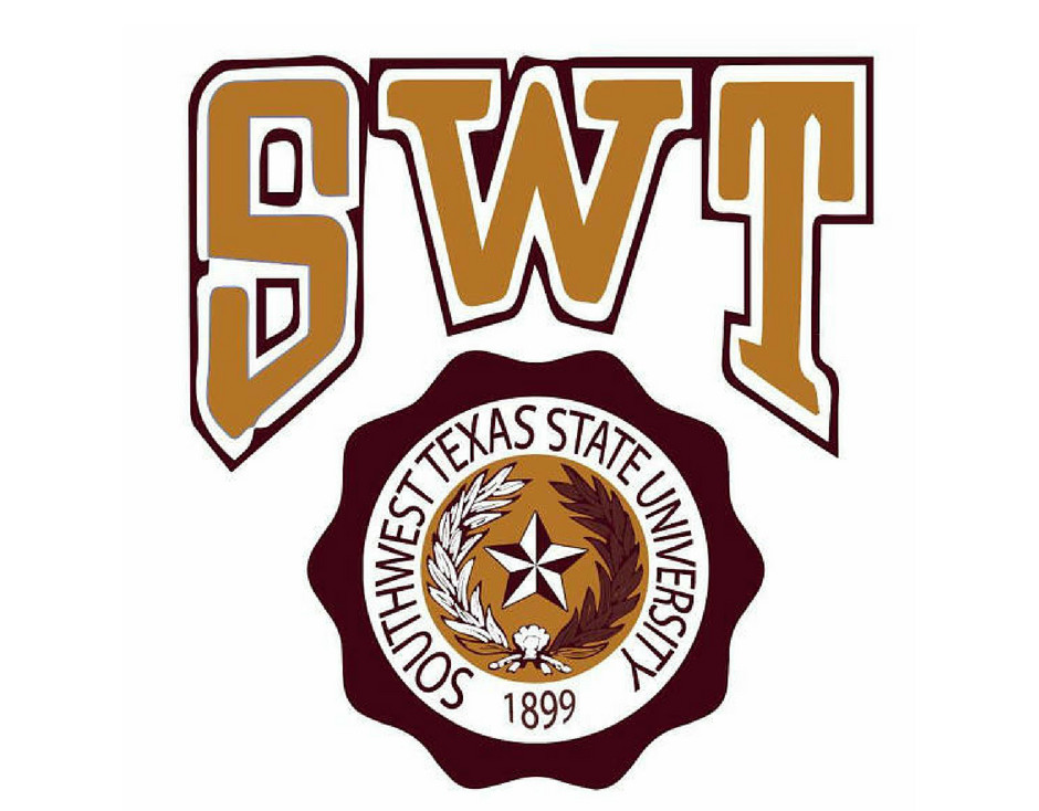 SWT Southwest Texas State University Logo Shop SWT Apparel Creeds & Crests
