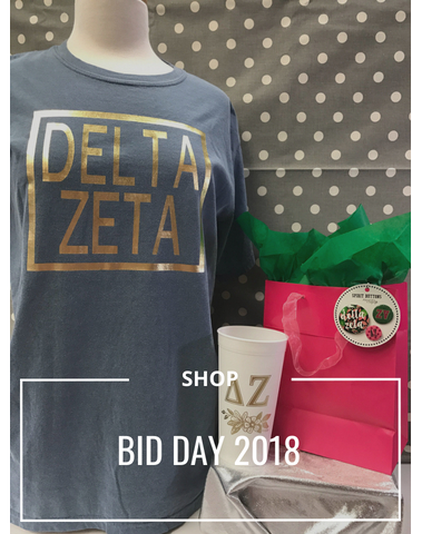Shop Bid Day 2018 Greek Life Sorority