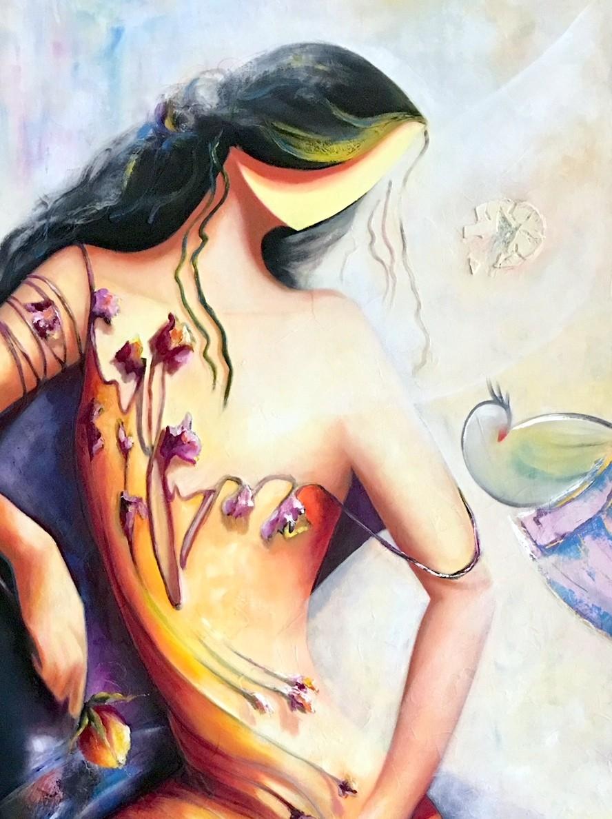 Sussan Afrasiabian_painter_abstract art_figurative art_bronze sculpture_ clay sculpture_Iranian artist_Persian artist_Contemp