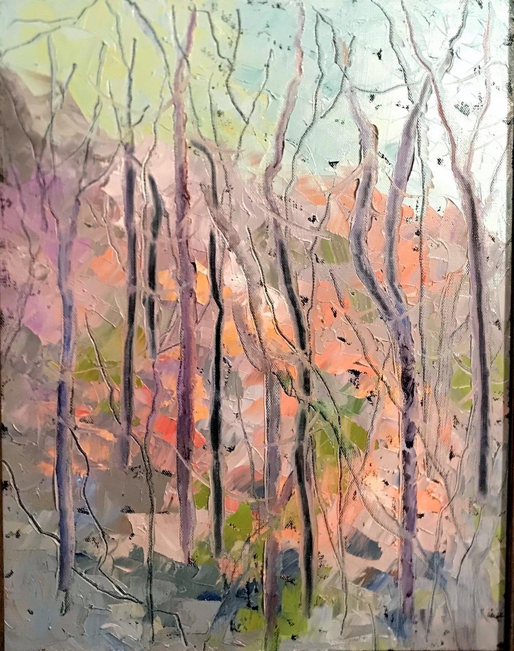 Impression Artist Gayle Barber at bella arte gallery