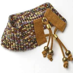 Fall Inspired Loom bracelet