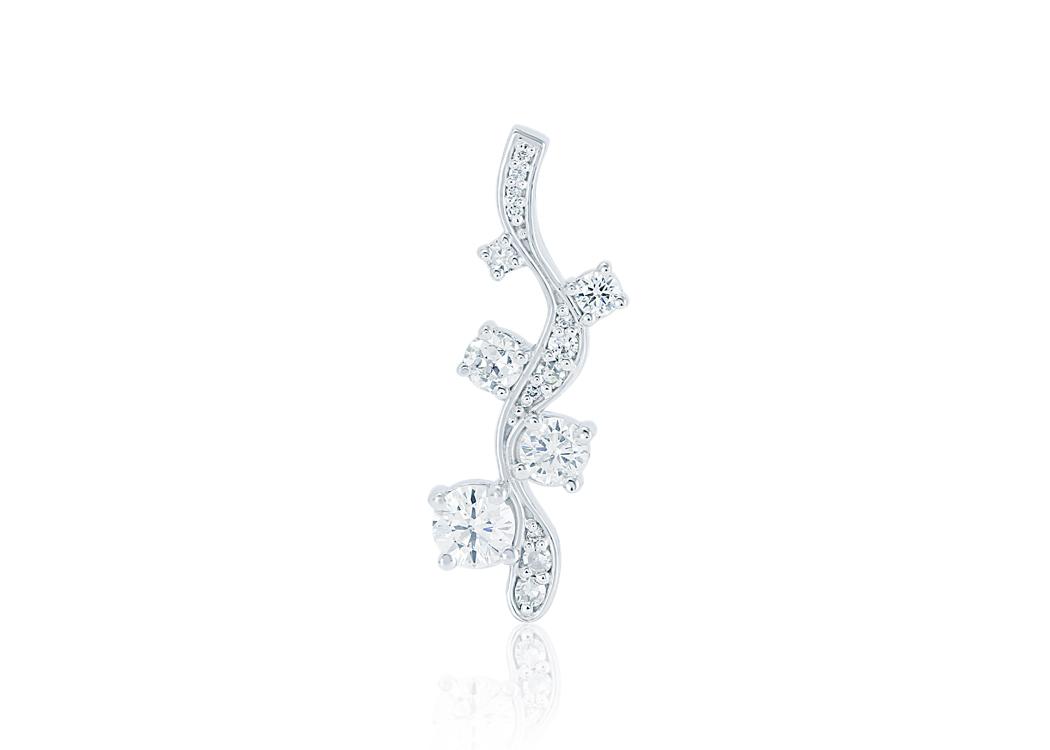 Modified Diamond Journey Pendant