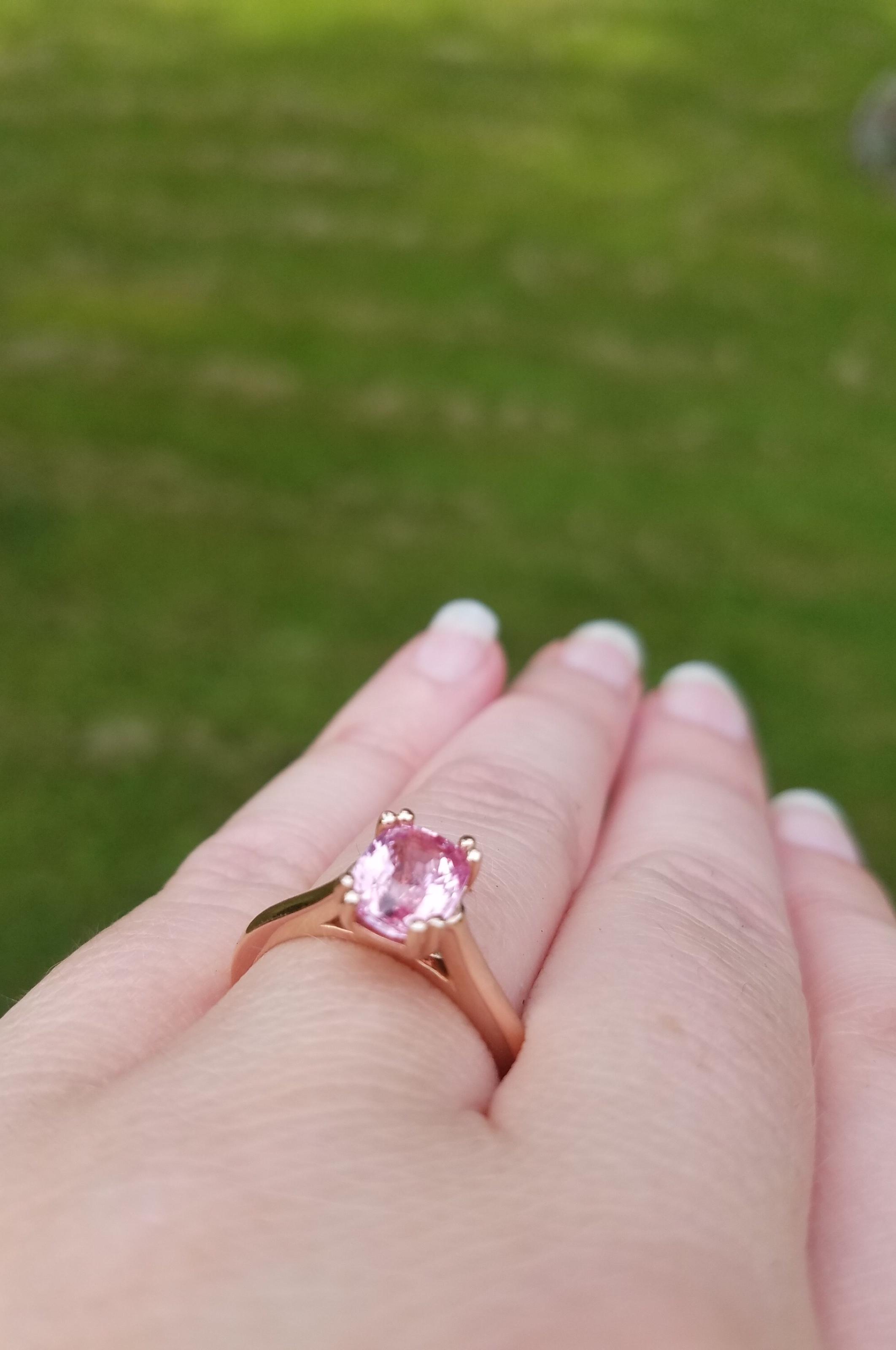 Joni's Engagement Ring