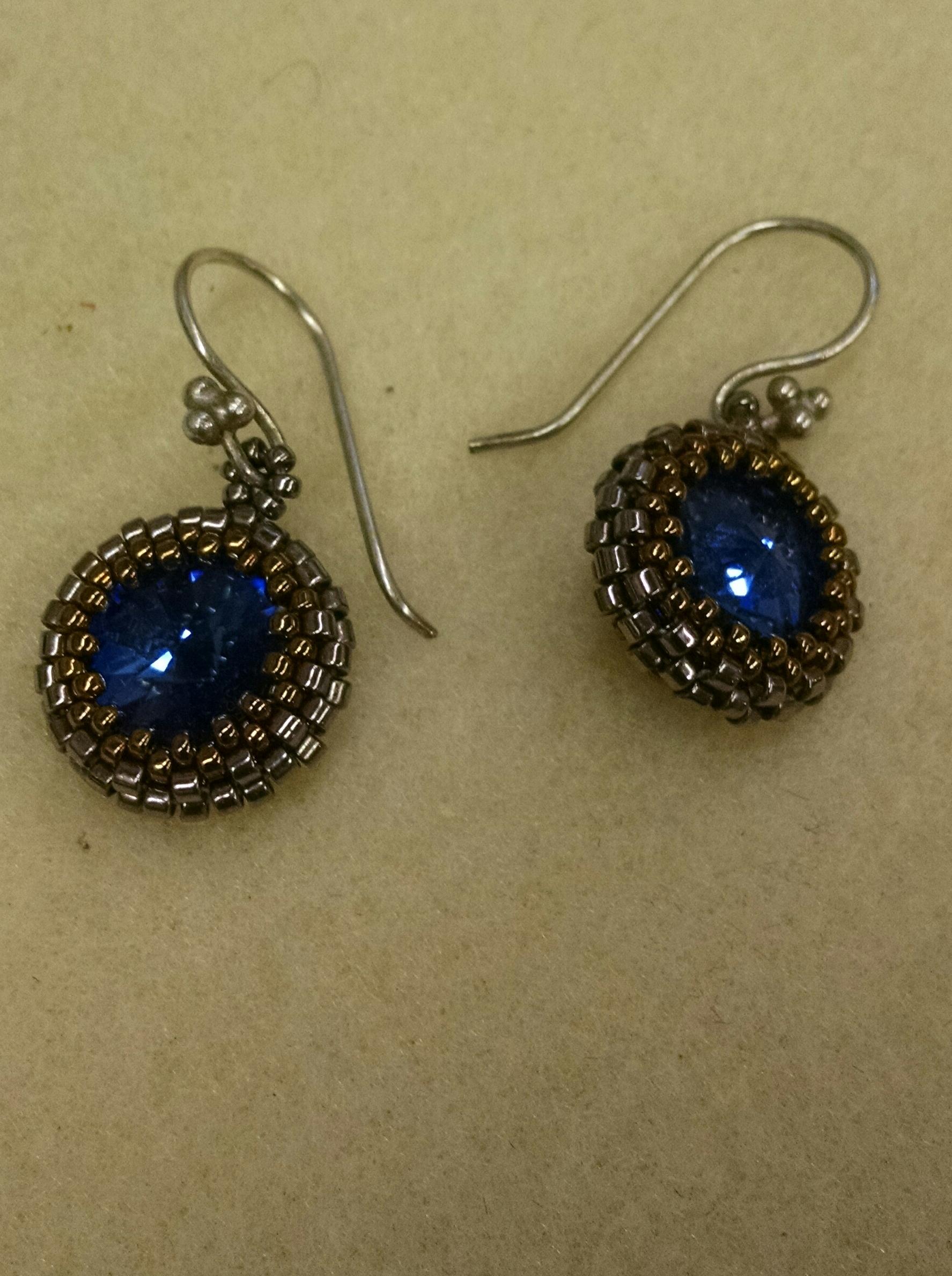 Peyote Crystal Earrings
