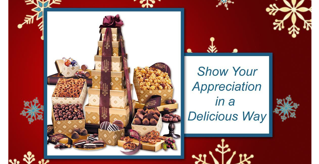 Christmas Appreciation Gifts and Christmas Gift Baskets