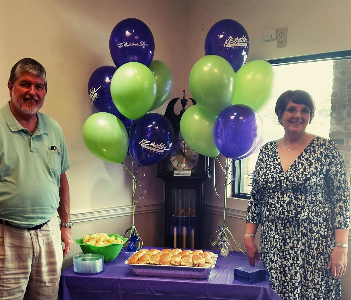 K E Butler celebrates 60th Anniversary