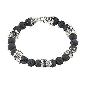 Skull & Lava Bracelet
