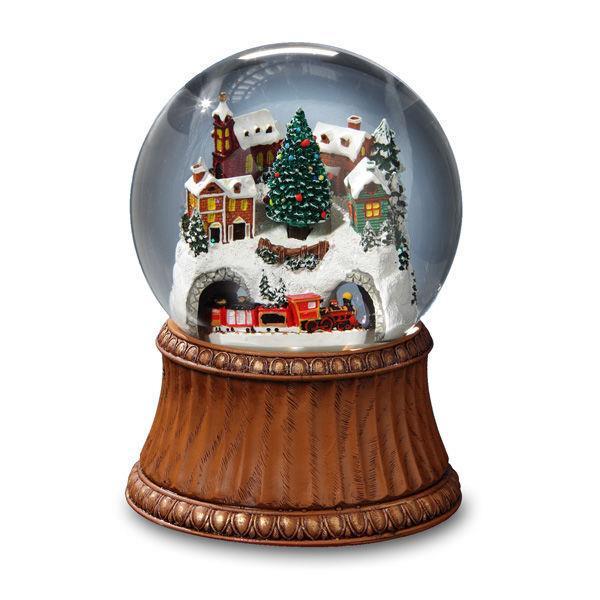 Train Snow Globe *