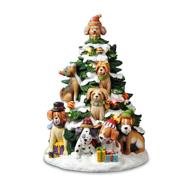Holiday Dog Tree *