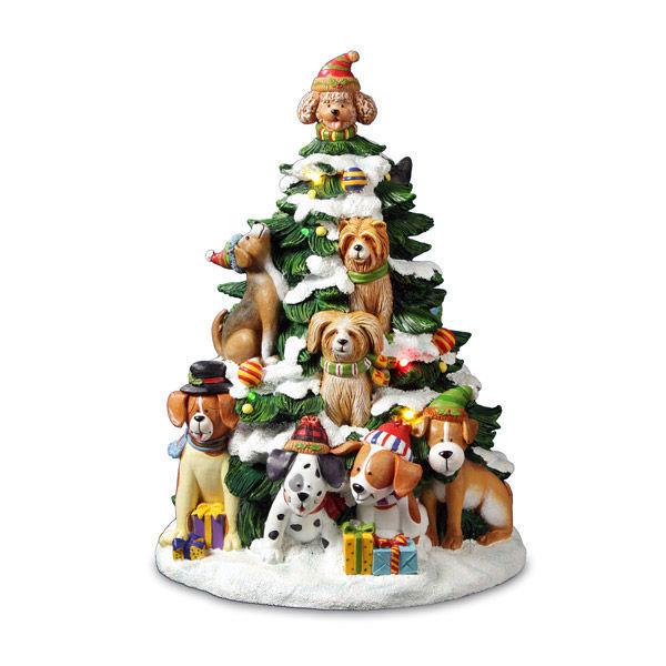 Holiday Dog Tree *