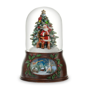 Santa w/Tree