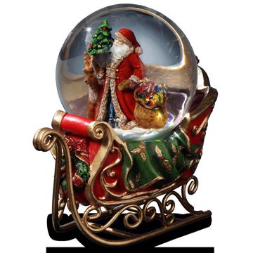 Santa in Sleigh *